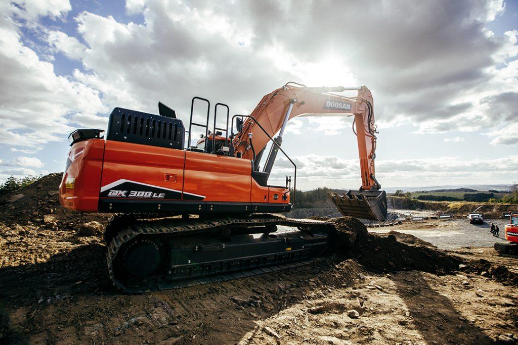 Doosan Tracked Excavator on Contract Hire